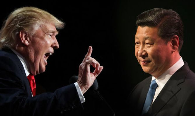 Image result for trump vs xi