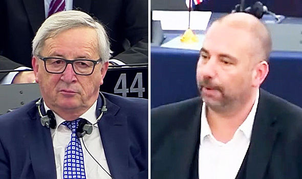 EU news - Juncker and Etheridge