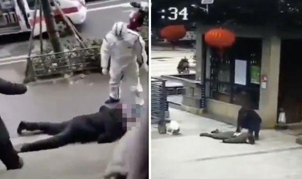 Coronavirus Horror Disturbing Footage Shows Zombie Like