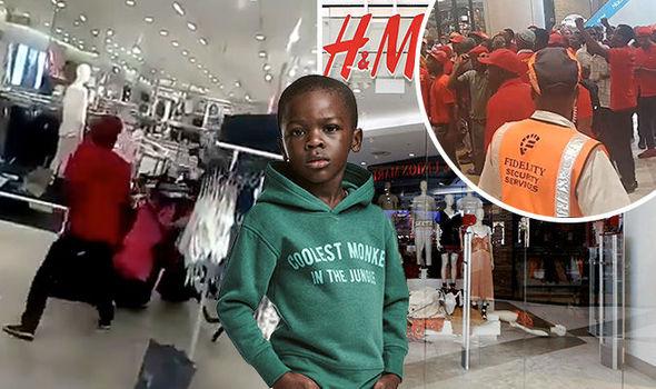 h&m advert row ransack shops south africa