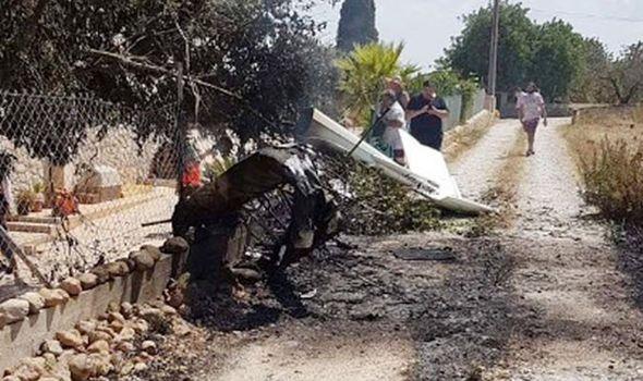 majorca plane crash holiday