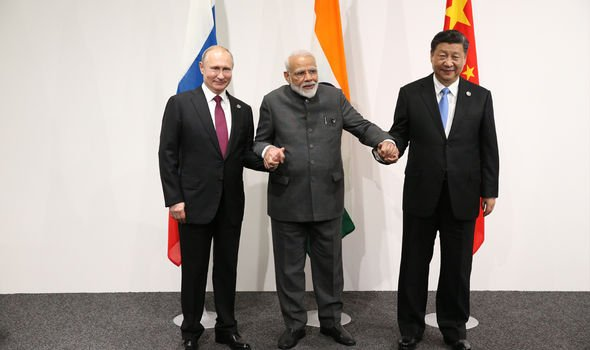 India and China have shared mixed relations