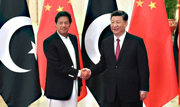 The Pakistan Foreign Minister is visiting China today