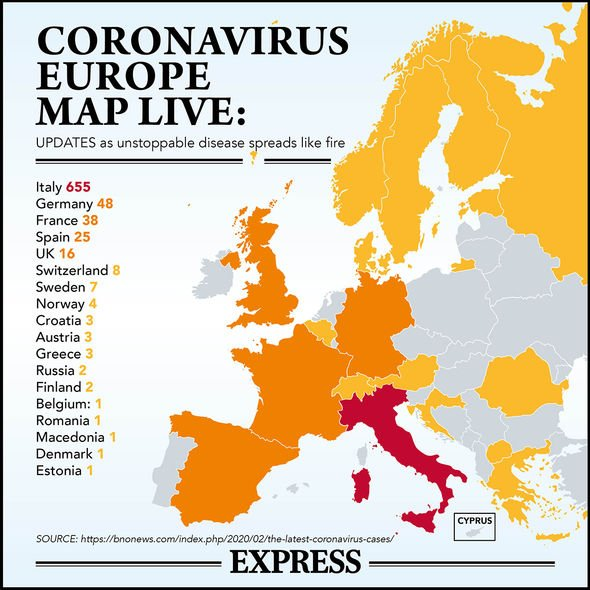 France coronavirus: FOUR news cases in French parliament confirmed ...