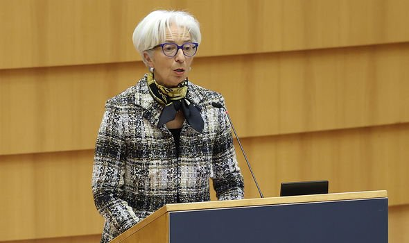President of the European Central Bank, Christine Lagarde