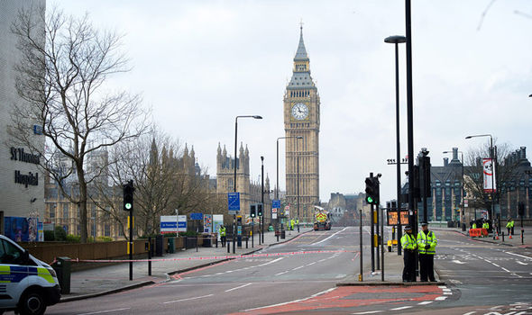 36 of the French students were walking along Westminster bridge when an attacker mowed people down