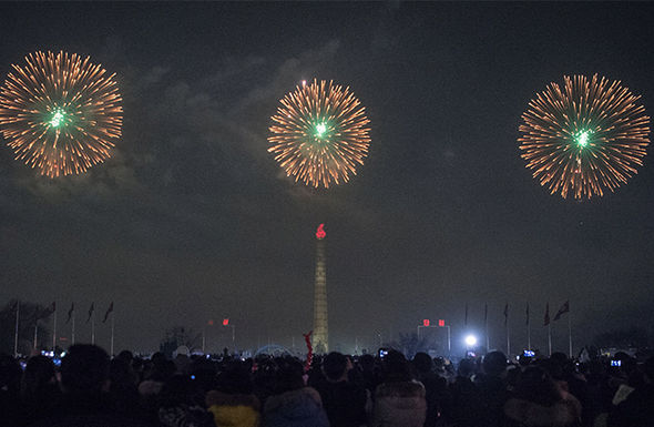 After their dreary fireworks display, Jong-un released numerous nuclear threats
