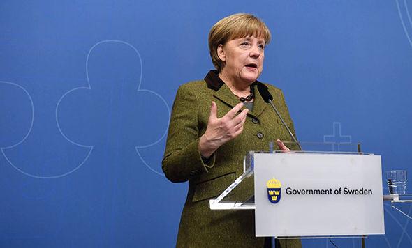 Angela Merkel in Sweden