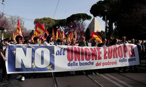 Anti-EU rally