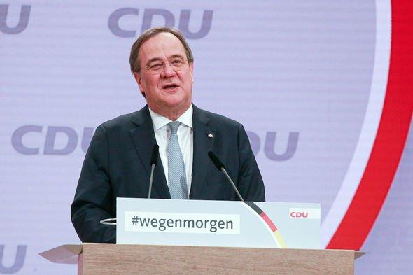 Armin Laschet: The centrist politician took over from Angela Merkel last month
