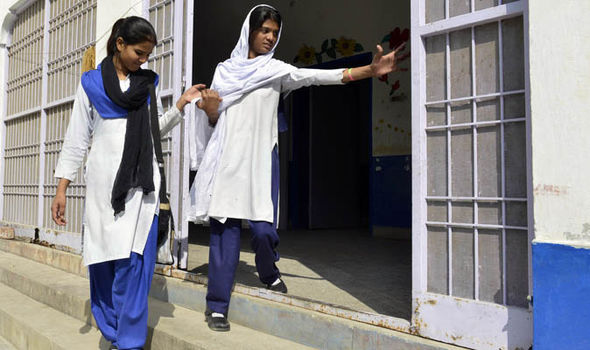 Asia Bibi's daughters Esha and Esham