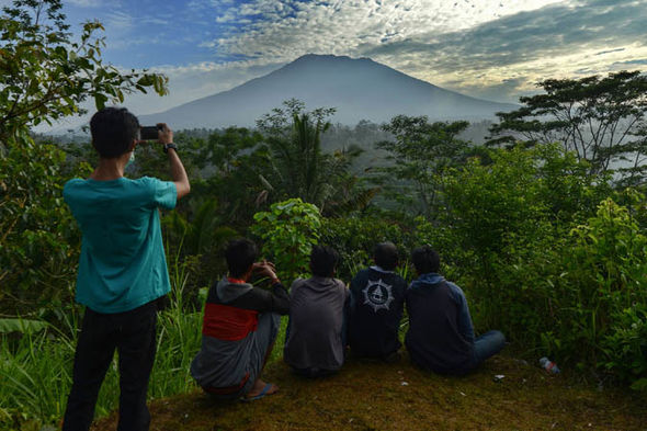 Bali volano news: Mount Agung