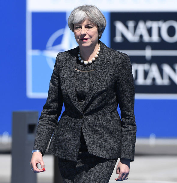 Theresa May to tell Nato to back her terror fight