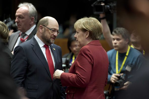German politician and former EU chief Martin Schulz is running against Merkel