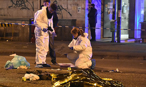 Berlin Christmas market terror attack mosque