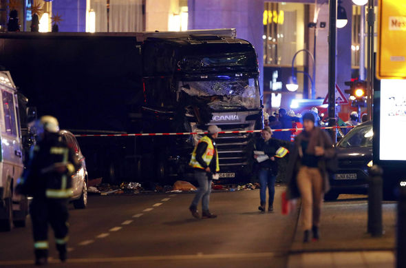 The attack targeted a Christmas market in Berlin