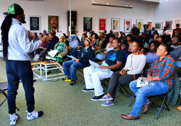 Black Guns Matter founder Maj Toure