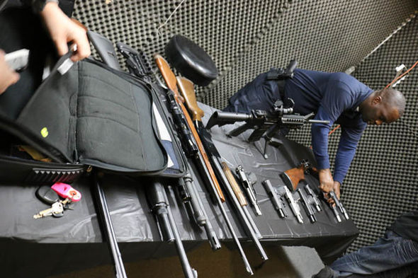 Black Guns Matter founder Maj Toure guns