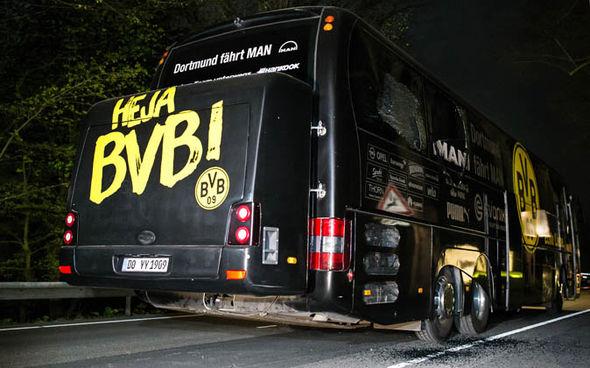 Borussia Dortmund bus attack explosion