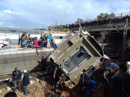 Bildergebnis für At least Six Dead in Morocco Train Crash: Details