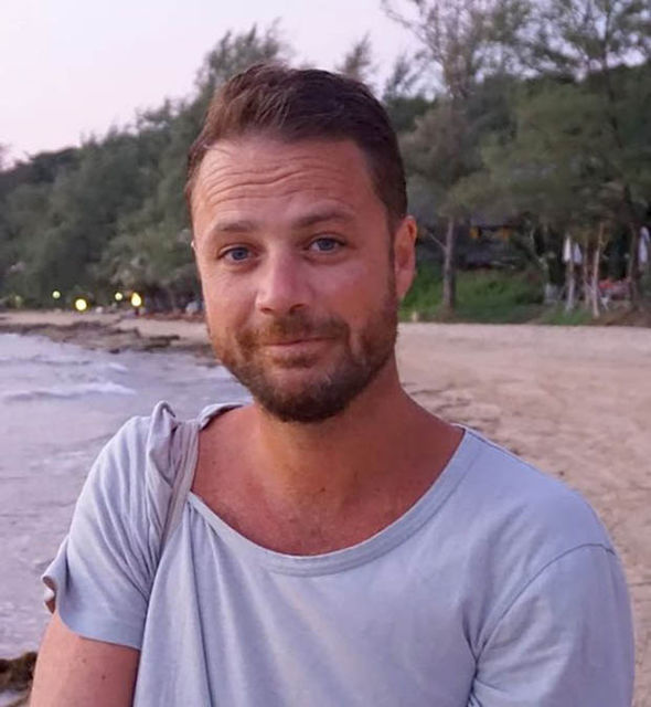 Father-of-two Chris Bevington from Britain