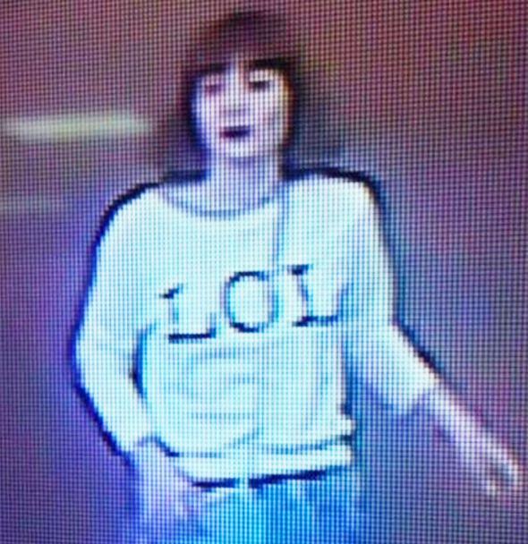CCTV suspect