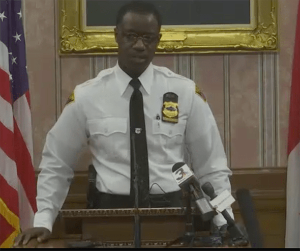 Calvin Williams, Cleveland Chief of Police