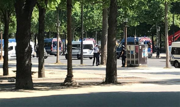 Champs-Élysées incident: Terror feared as car hit