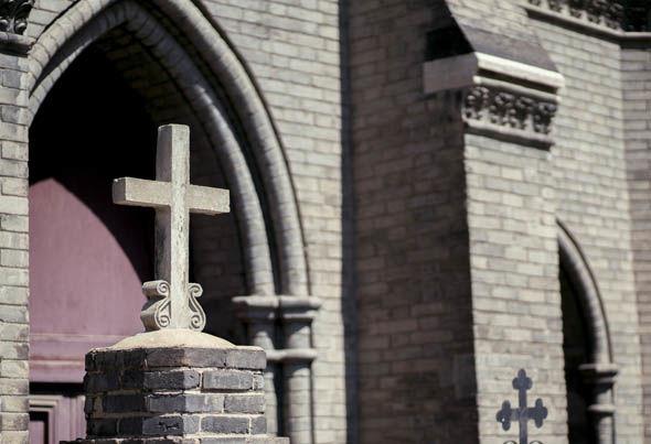 Wanghailou Catholic Church in Tianjin. China