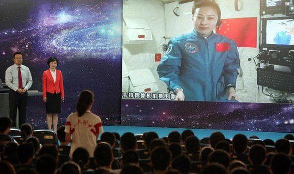 Chinese astronaut Wang Yaping