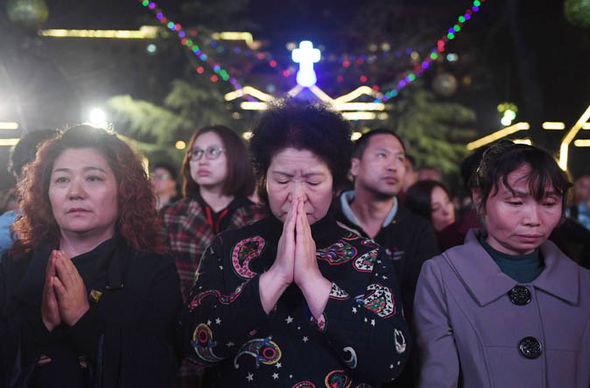 Christians in China are divided