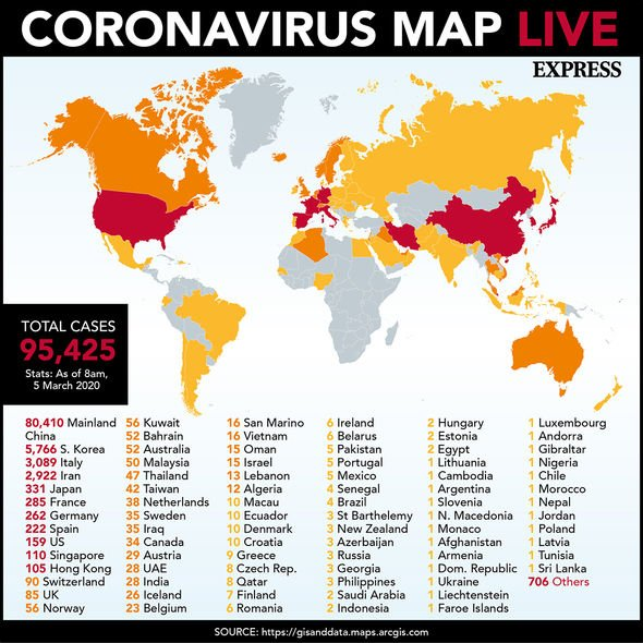 Coronavirus epidemic: 58 MILLION Germans could be infected by ...