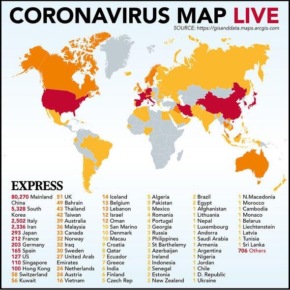 Coronavirus UK: Britain TOP for epidemic response worldwide ...