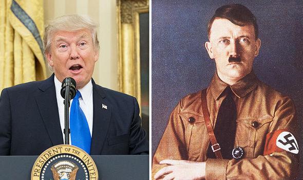 Donald Trump and Hitler