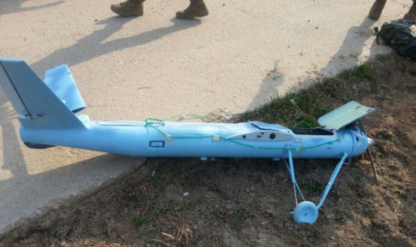 North Korea drone