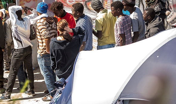 Migrants are often arriving without papers