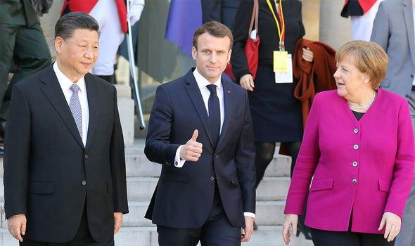 EU news: Macron and Merkel often spearhead meetings with international powers