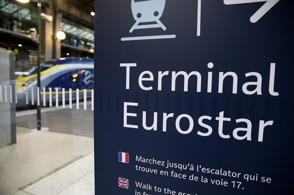 Eurostar fury as Brits blocked at St Pancras from getting to France