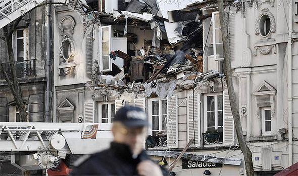 Explosion in Paris