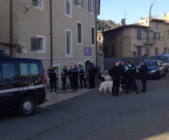 House raid in southern France