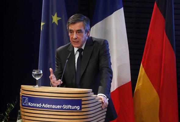 Francois Fillon said the EU was