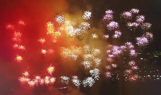 Firework blunder