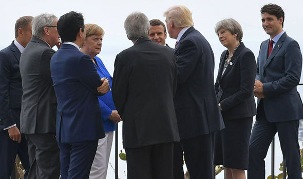 G7 summit leaders