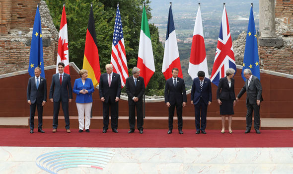 G7 summit in Italy