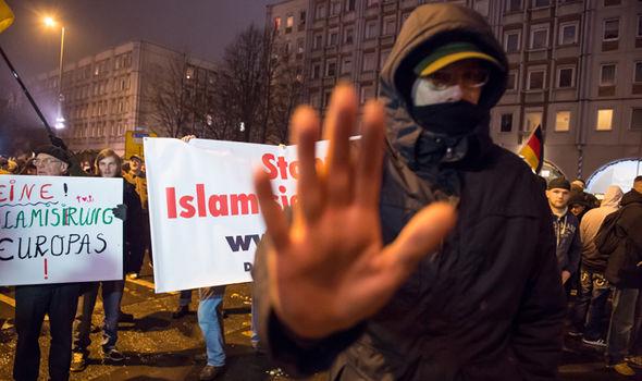 Anti-Sharia protest