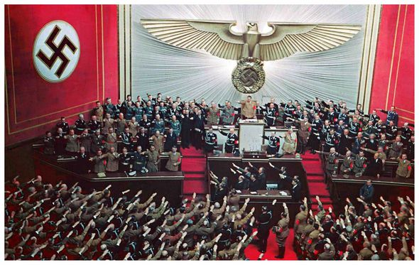 Hilter orchestrated the 'seizure of power' in 1933 and led the world to war