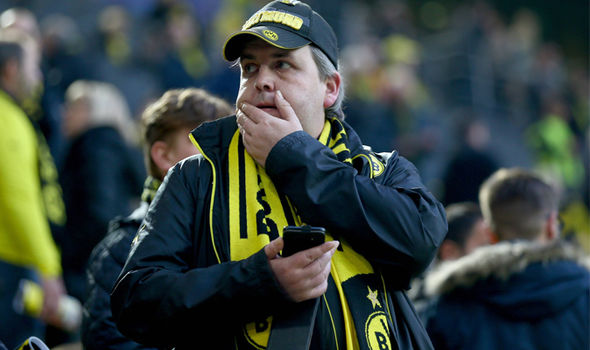 Dortmund fan