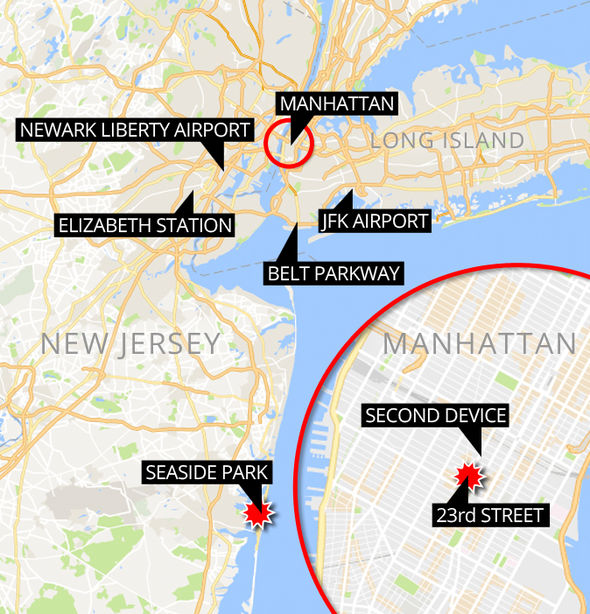 The states of New York and New Jersey are on high alert