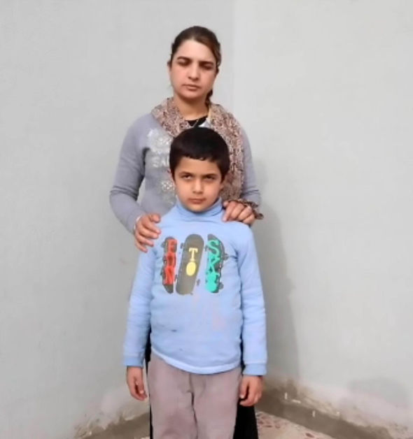 Waheda's son was trained by ISIS to use weapons