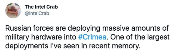 Intel Crab Ukraine Crimea